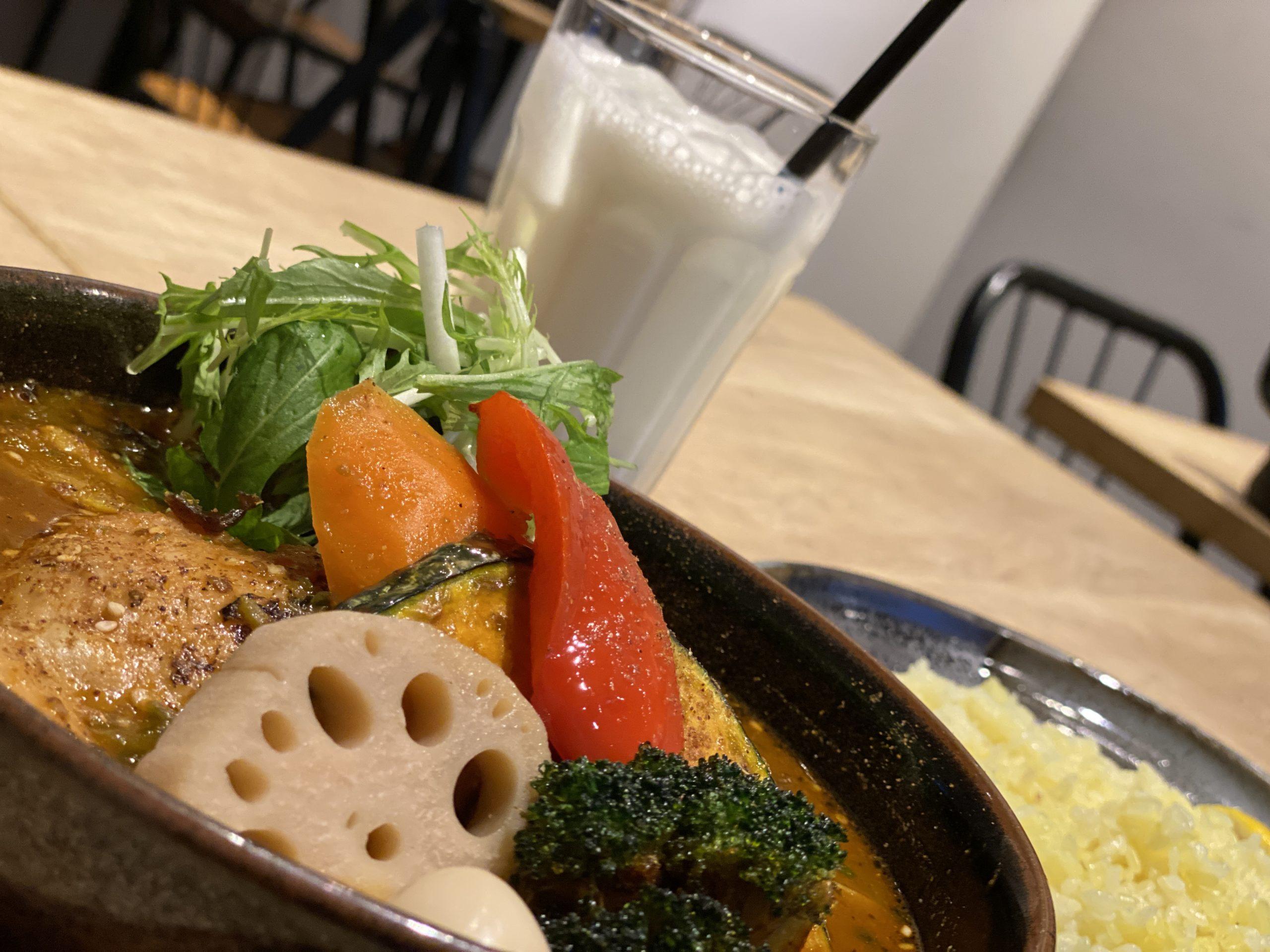 和風仕込みのハバネロ入り激辛スープカレーに挑む!!