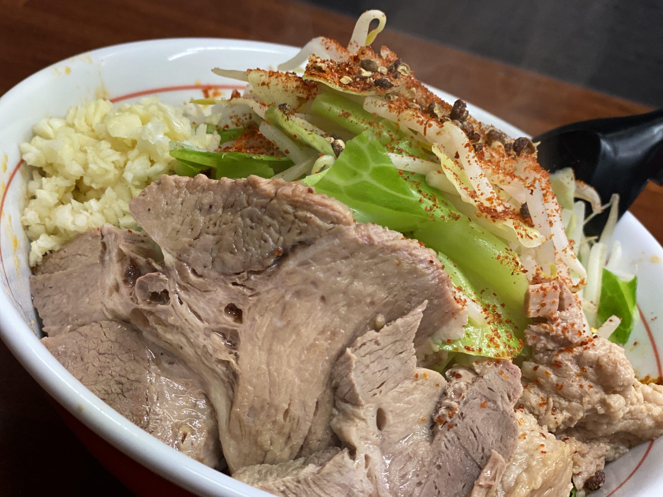 汁なし麻辣麺(黄泉の国)