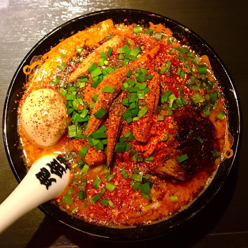 【超激辛】鬼金棒のカラシビ味噌らー麺の『鬼増し』の辛さがエグい!