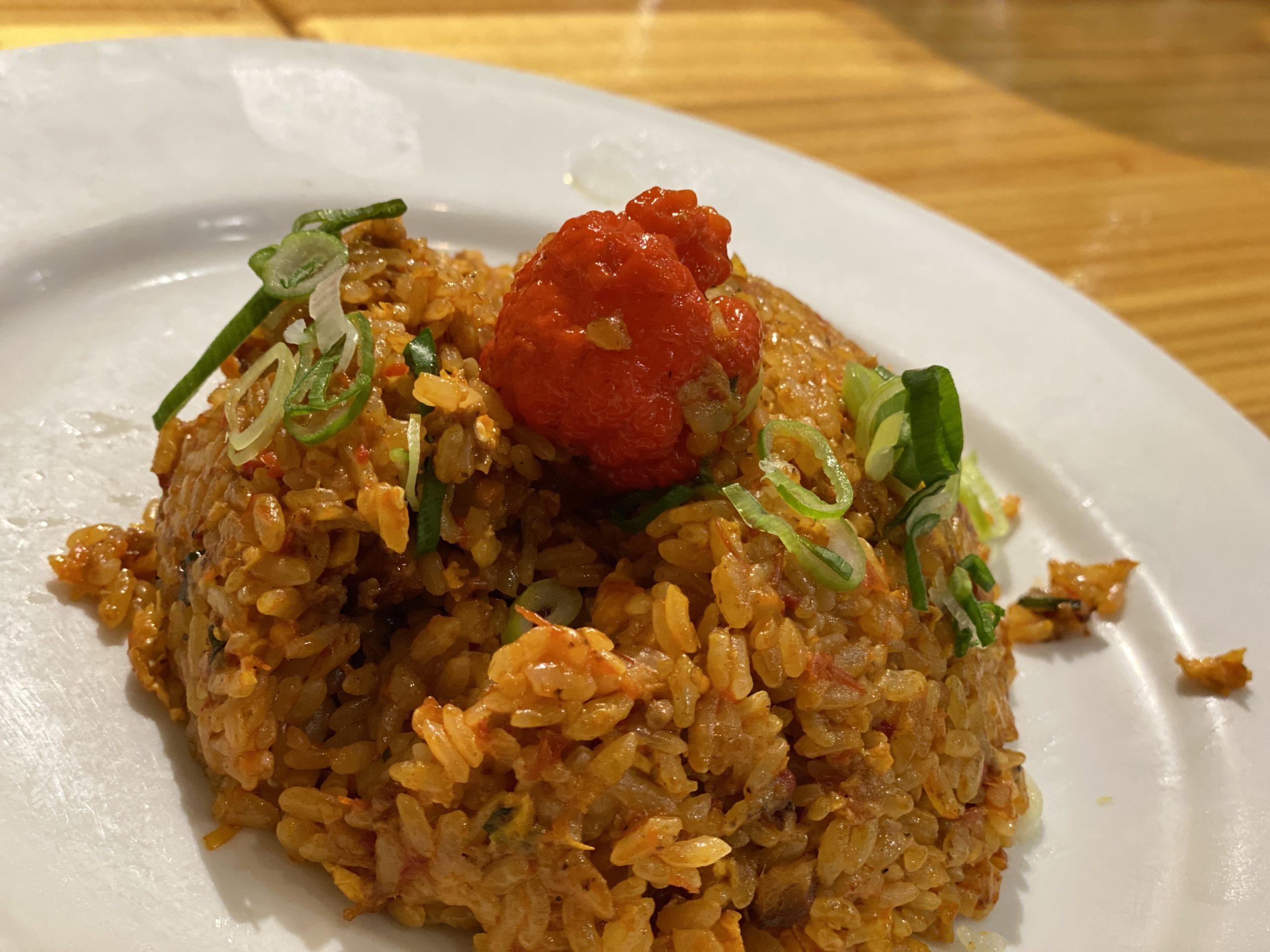 【デスソース入り】珉珉の『死神チャーハン』の辛さが兵器レベルで辛すぎる。【spicy rice】