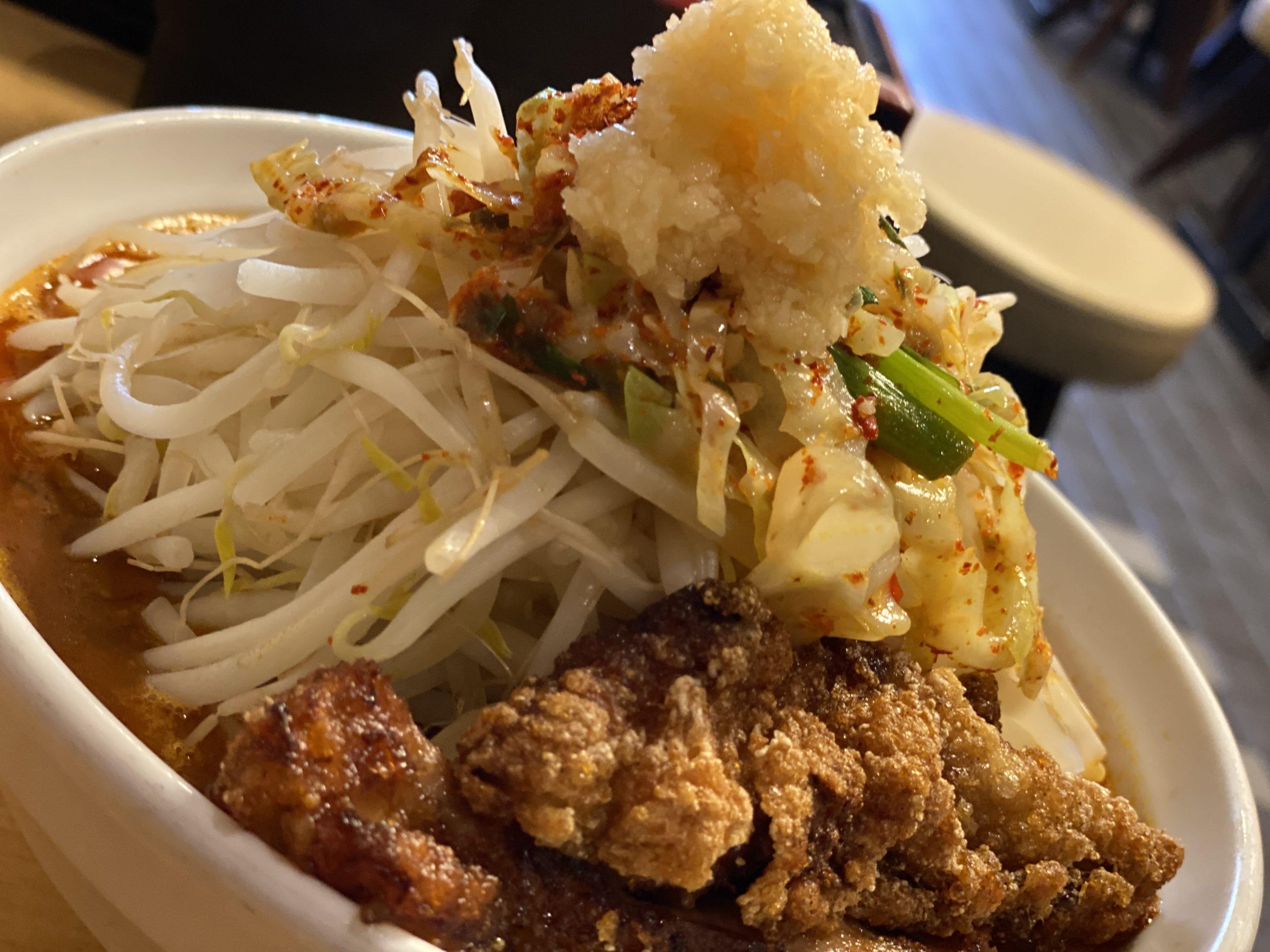 あんかけ極辛拉麺(プチ唐トッピング)