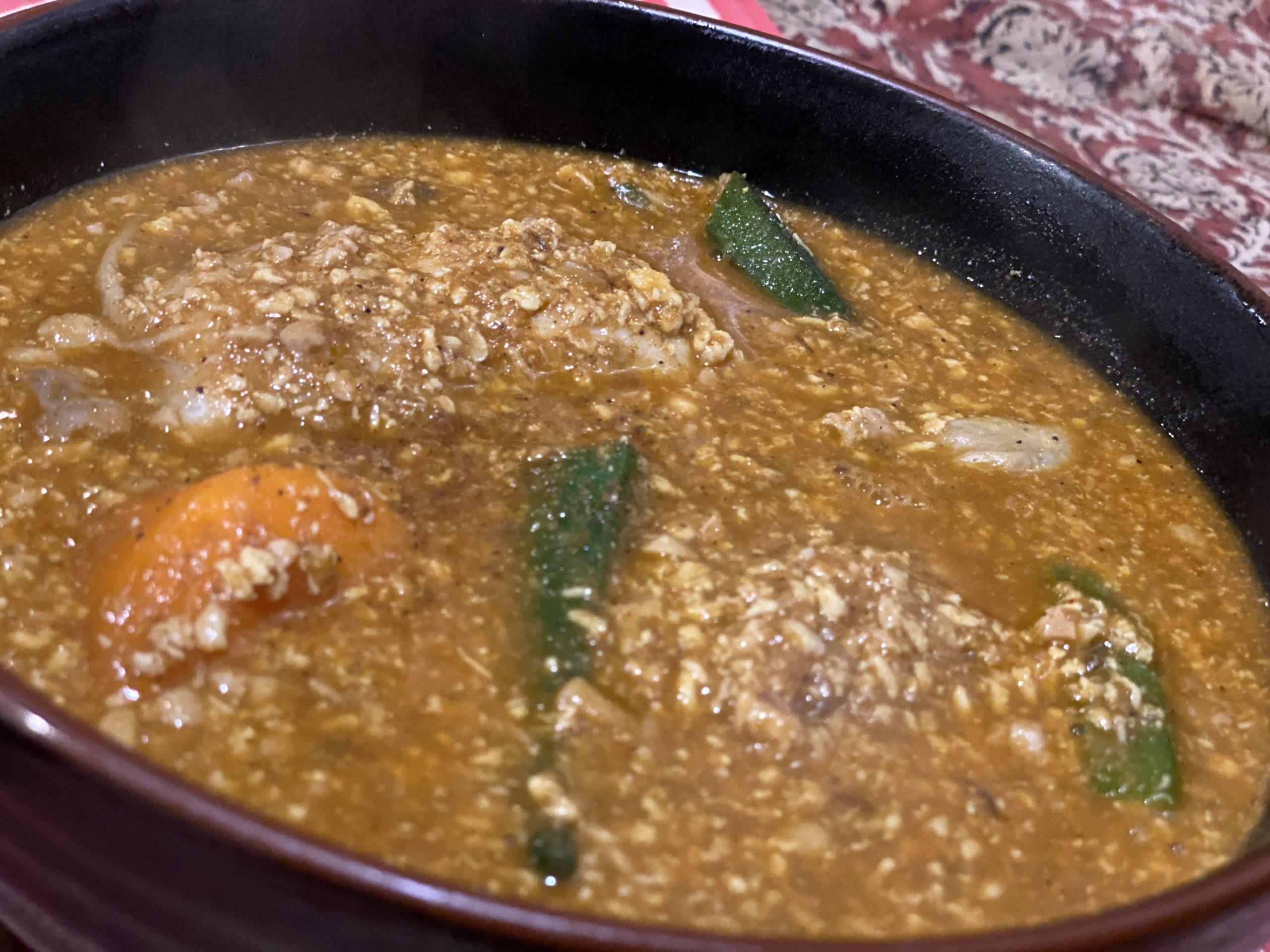ナット挽肉ベジタブル辛さ100番