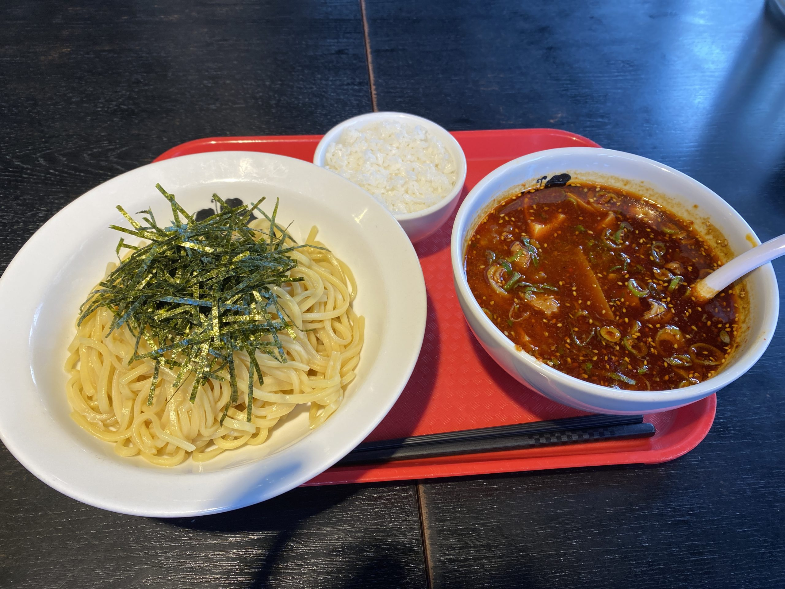 辛つけ麺(辛め)