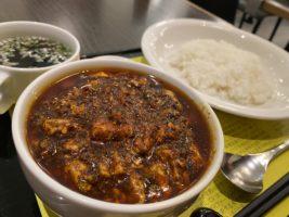麻婆豆腐定食(超激辛)